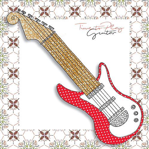 Guitar | Greeting Card