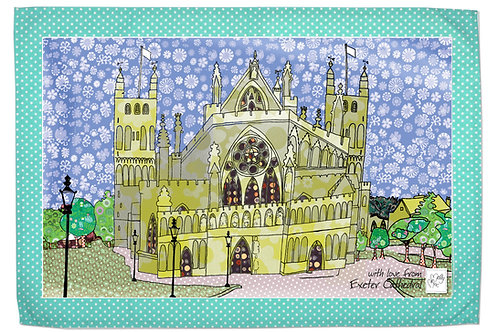 Exeter Cathedral | Tea towel