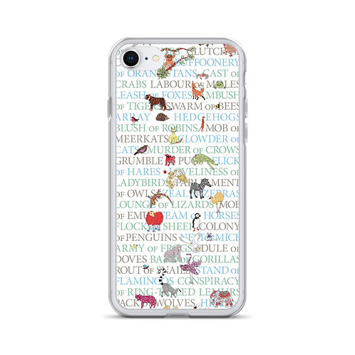Animal Collective Nouns | iPhone Case