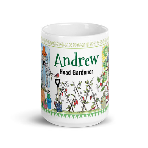 Head Gardener (Personalised) | Mug
