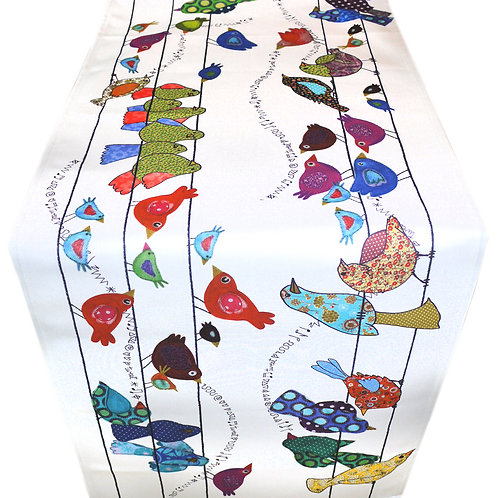 Birds on a Wire    Table Runner   Seconds