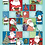 Thumbnail: Seconds | Father Christmas  | Tea towel