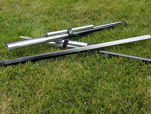 "Twin Lacrosse shaft 60"" defense collapsible shaft"