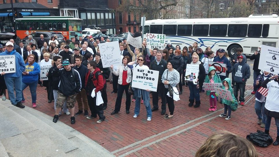 State House Rally against Zohydro