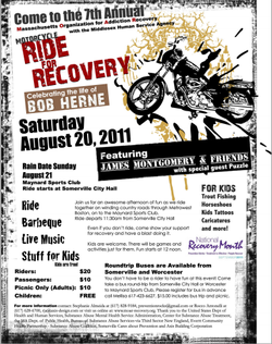 Bob Hern Ride For Recovery 2011 Flyer.png