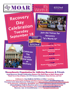 2012 Recovery Month Flyer