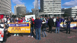 Recovery Day Rally at City Hall