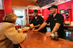 Recovering addicts find skills, support at Cafe Reyes