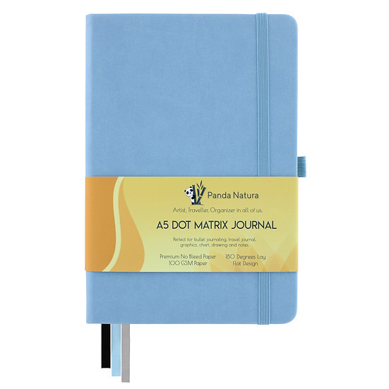 A5 Dotted Journal - Blue