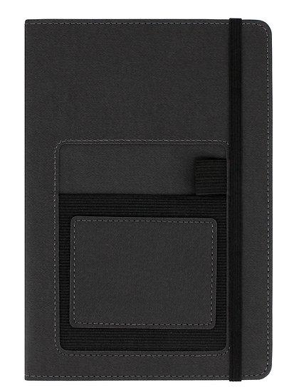 A5 Dotted Journal with Mobile Phone Pocket
