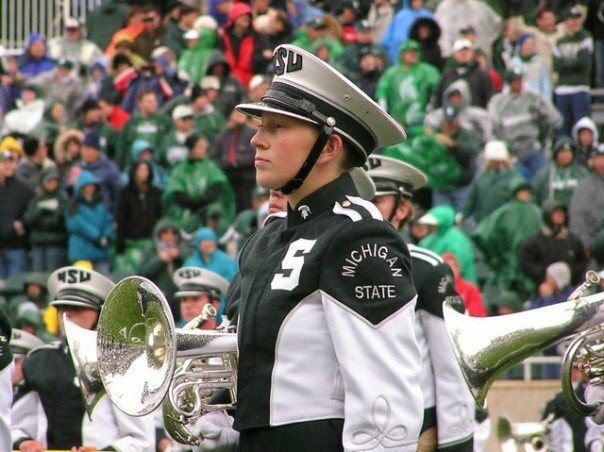 Michigan State University Spartan Marching Band, 2004