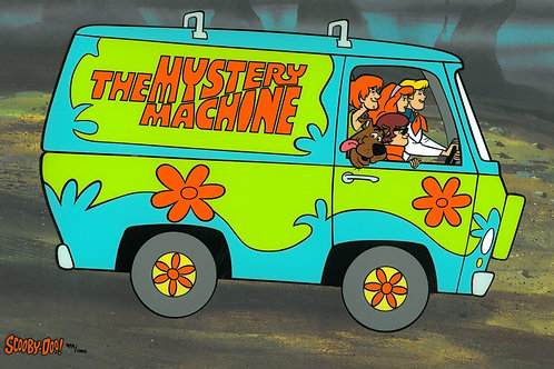 Mystery Machine, Hanna-Barbera Limited Edition Giclee
