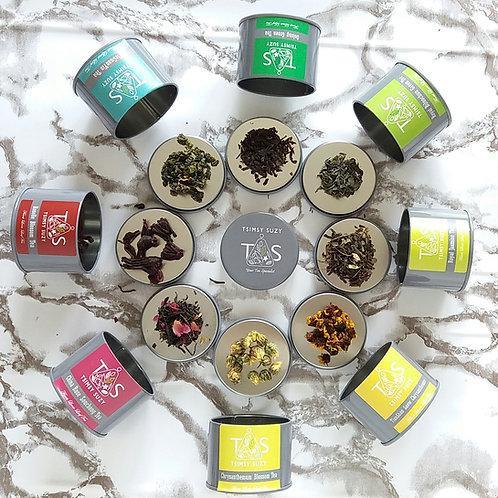 Delicious Loose Leaf Taster Tea (8 Tins)