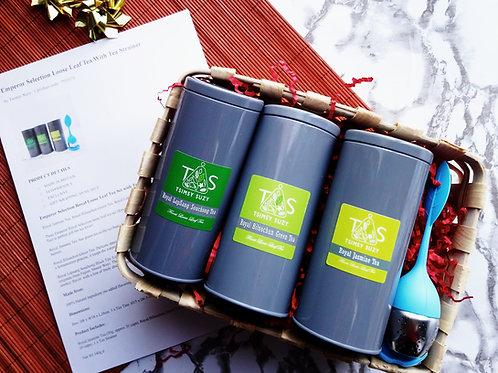 Emperor Selection Tea Set with Tea Strainer