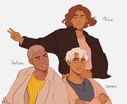 webcomic character designs