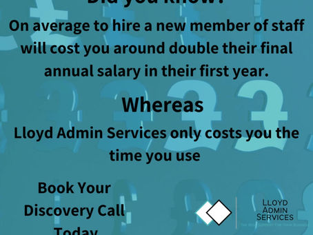How can Lloyd Admin Services save you time and money?