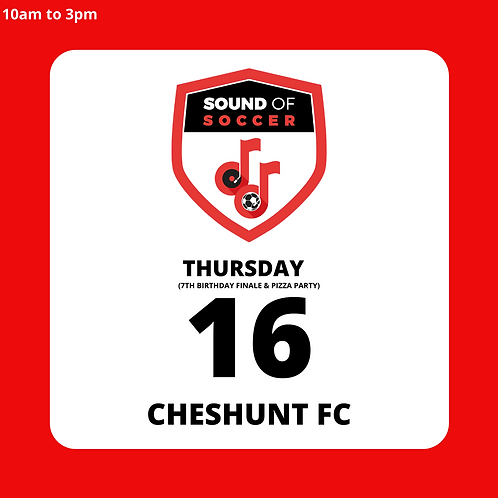 EASTER DAY PASS | CHESHUNT | 16TH APRIL
