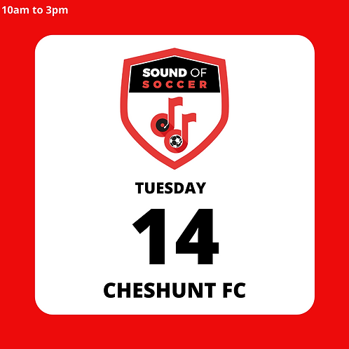 EASTER DAY PASS | CHESHUNT | 14TH APRIL