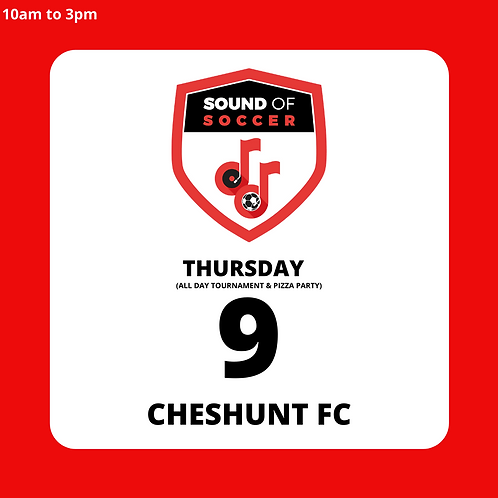 EASTER DAY PASS | CHESHUNT FC | 9TH APRIL