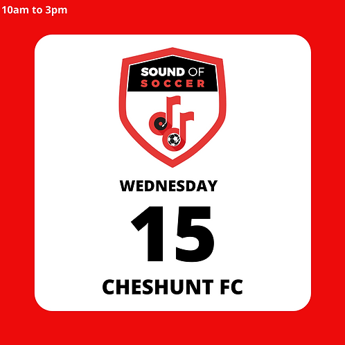 EASTER DAY PASS | CHESHUNT | 15TH APRIL