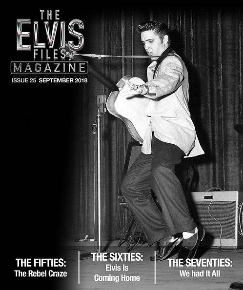 The Elvis Files magazine issue 25
