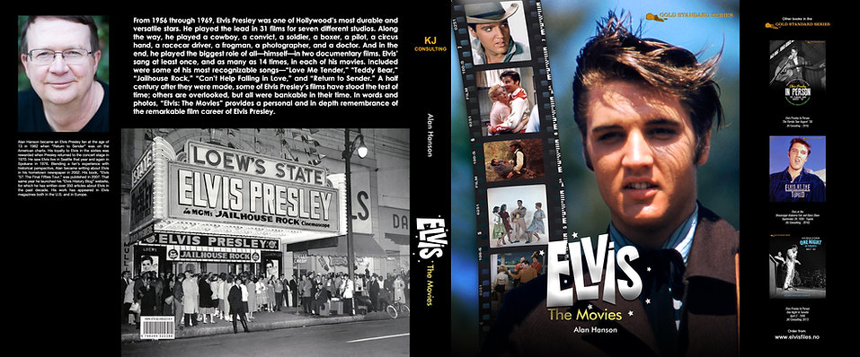 ELVIS The Movies by Alan Hanson