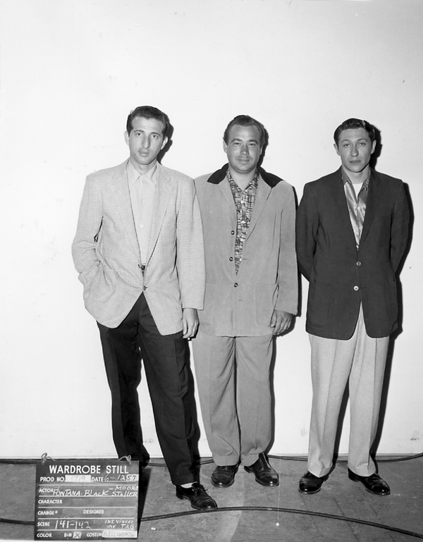 Jailhouse Rock wardrobe still MGM June 1