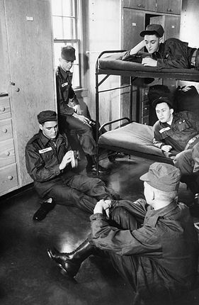 Ray Barracks, Germany 1958.
