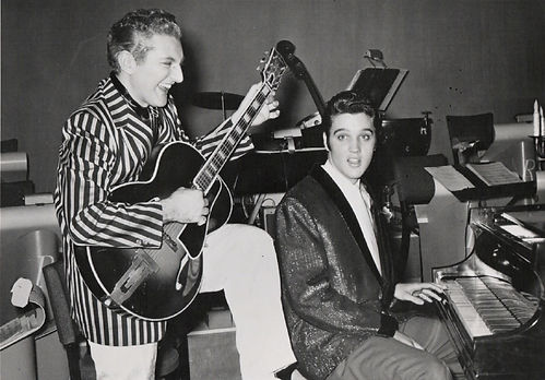 Elvis and Liberace do it up madcap-style
