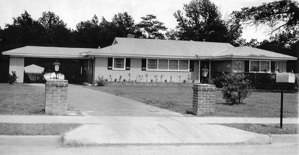 Audubon Drive 1956.