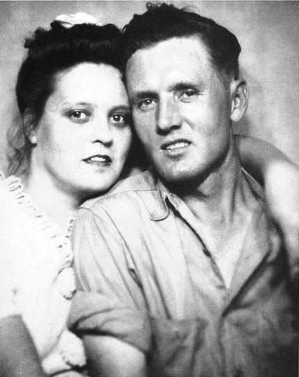 Tupelo, circa 1947, perhaps taken in a photo booth