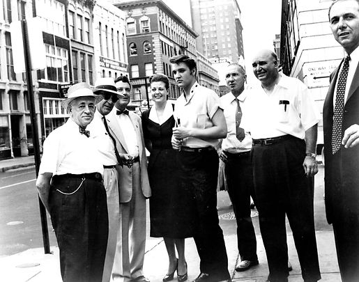 Main St. downtown Memphis. The Family Album by George Klein.
