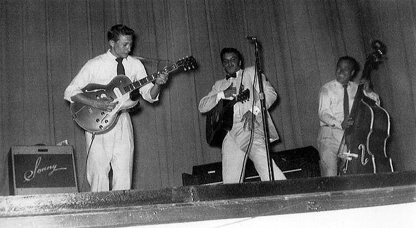 Municipal Auditorium Texarkana, Arkansas. May 27, 1955.