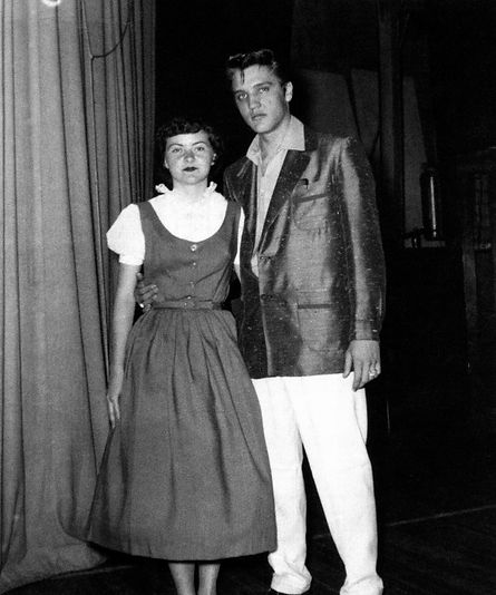 April 13, 1955. Breckenbridge, Tx. High