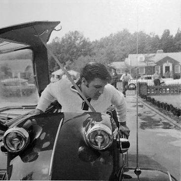 September 20, 1956. Memphis, 1034 Audubon Drive. Tricycle Messerschmitt.