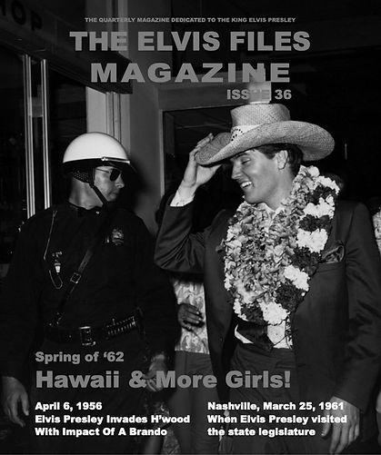 The Elvis Files magazine issue 36