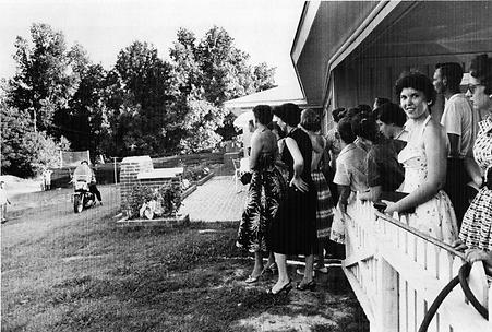 Audubon Drive July 4, 1956. A Wertheimer