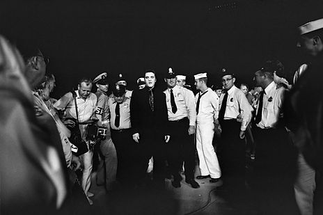 July 4, 1956. Russwood Park, Memphis.