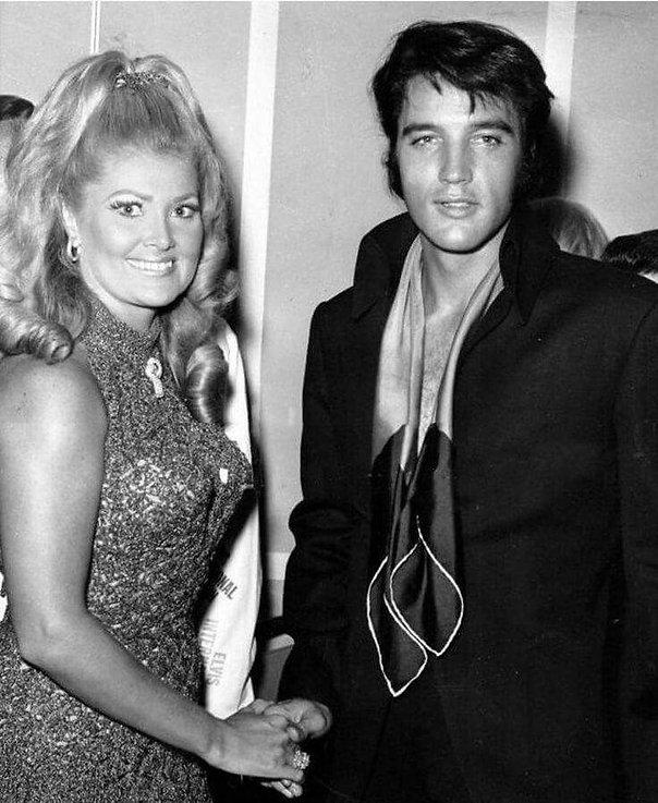 Elvis and Joan Shoofey, wife of Internat