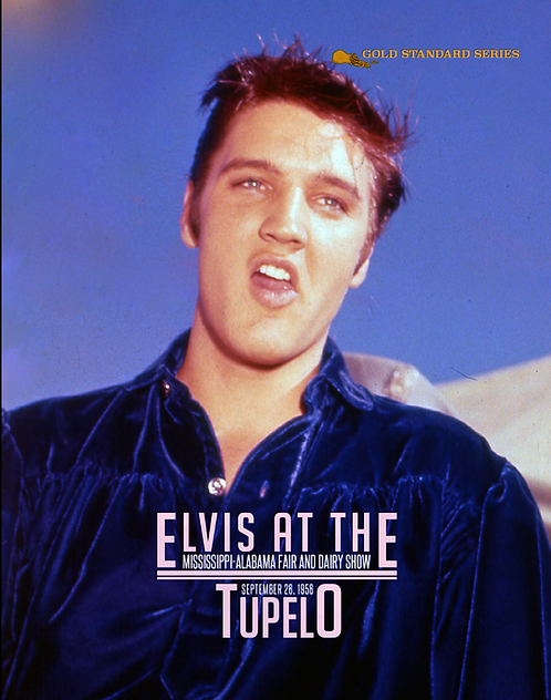 Elvis at the Mississippi - Alabama Fair and Dairy Show. Tupelo, Ms., Sept. '56