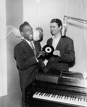 Sam Phillips with Roscoe Gordon photographed by Ernest C. Withers..jpg