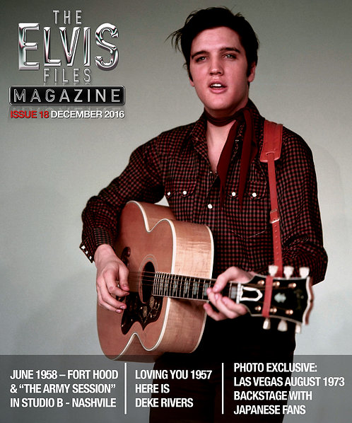 The Elvis Files magazine issue 18