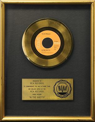 In The Ghetto RIAA gold record.jpeg