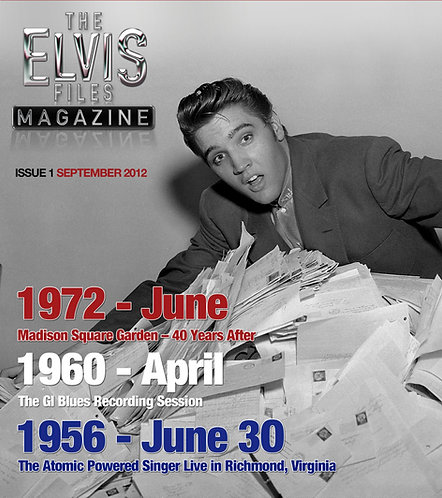 The Elvis Files magazine issue 01