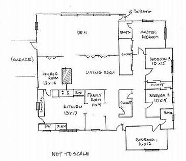Audubon floor plan 1956.