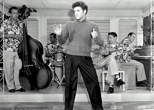 Jailhouse Rock scene still Baby, I Don't