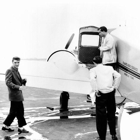 April 14, 1956. From Nashville to Memphi
