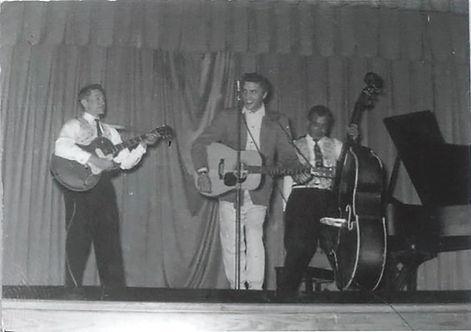 January 13, 1955.  the Catholic Club, Helena, Arkansas.