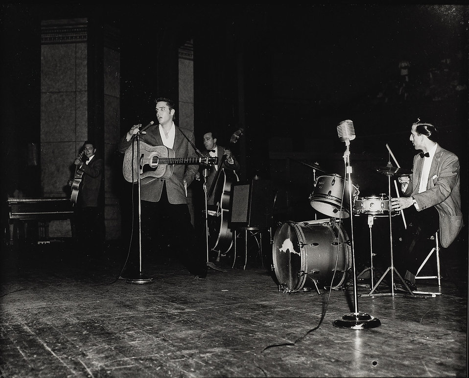 Ellis Auditorium on May 15, 1956, as the
