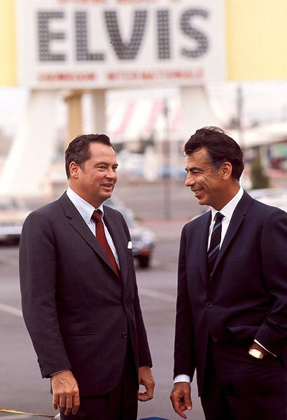 Kirk Kerkorian with Baron Hilton 1969..j